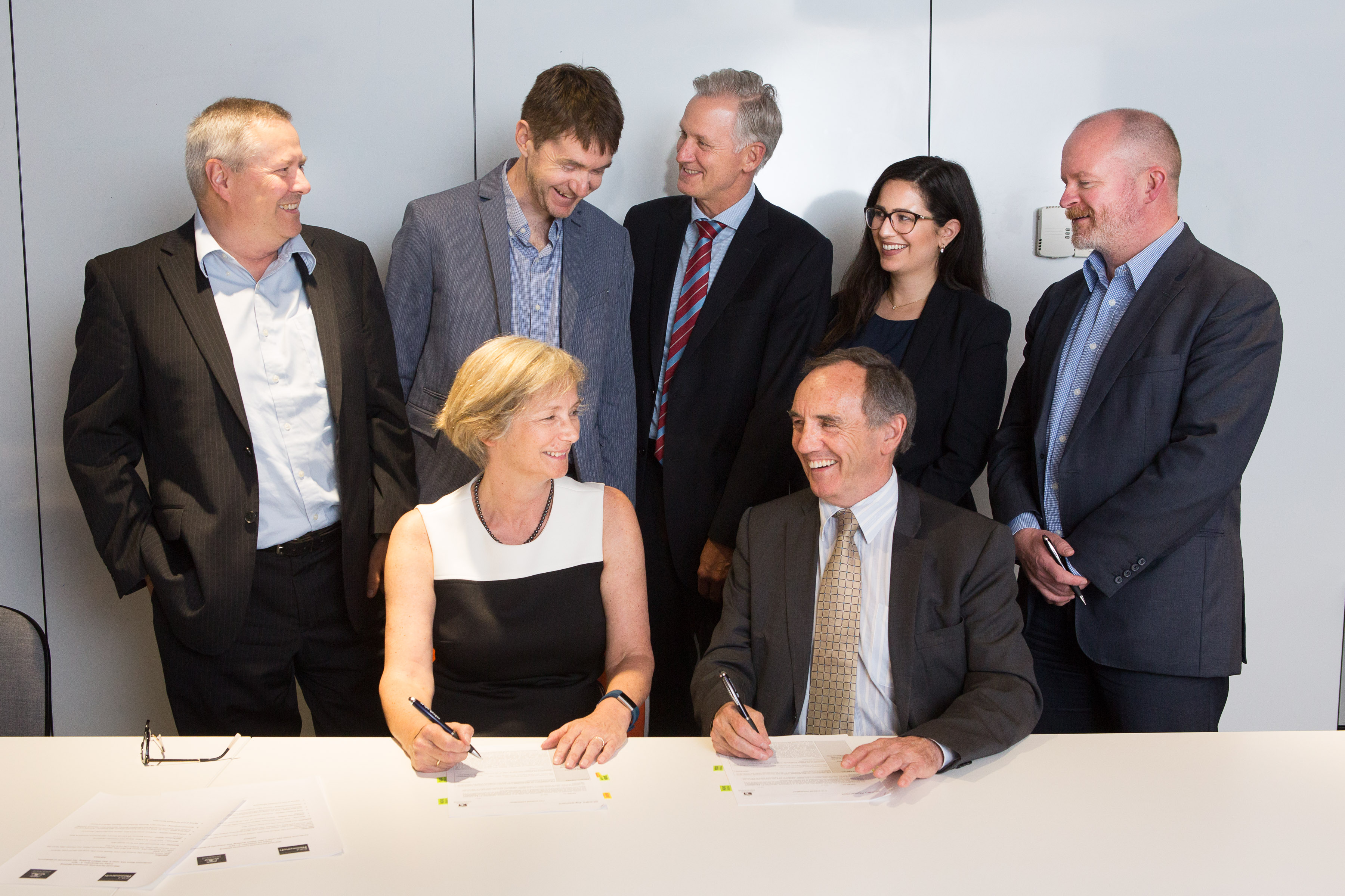 Official Agreement Signing Photo